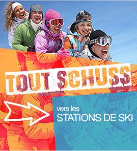 NeigeExpress vers les stations de ski les Orres, Vars, Risoul