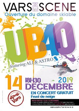 Concert UB40 à Vars